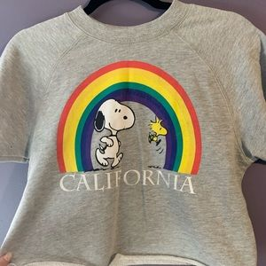 Snoopy & Woodstock California Sweatshirt